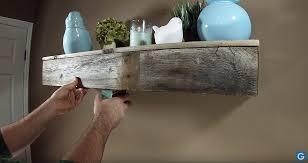 Reclaimed Wood Floating Shelves by Reclaimed Floating Shelf With Hidden Compartment U2014 Adam Gabbert