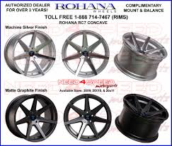 lexus canada sponsorship first look rohana rc7 wheels deep concave wheels lexus