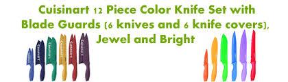 cuisinart kitchen knives cuisinart colorful knife set reviews 2017 best colorful kitchen