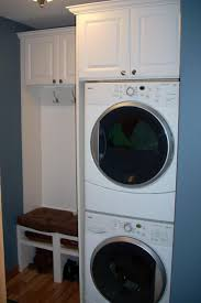 Ideas For Laundry Room Storage by 25 Best Stacked Washer Dryer Ideas On Pinterest Stackable