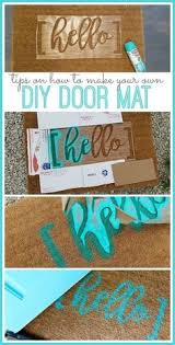 Make Your Own Outdoor Rug Diy Upcycled Door Mat From Momtastic Diy Crafts
