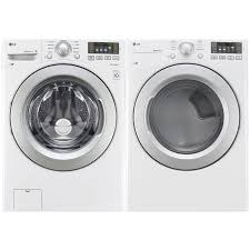 black friday sales on washers and dryers lg 5 2 cu ft he front load washer u0026 7 4 cu ft electric dryer