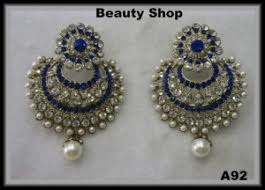 royal blue earrings earrings royal blue color earrings online shopping for