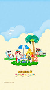 Homedesigner by Cute Summer Animal Crossing Happy Home Designer Wallpapers From