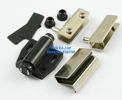 glass door pivot hardware aliexpress com buy 5 sets press open single glass door pivot