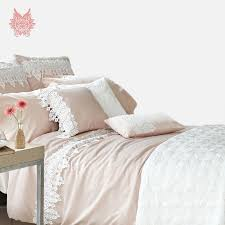 home textile french twin tribute silk bedding sets cotton silk