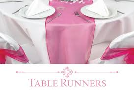 Where To Buy Table Linens - buy table runners and overlays for weddings and events