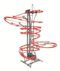 eitech run n roll marble roller coaster diy construction set motor
