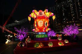 lantern new year celebrating the 2018 lantern festival in hong kong
