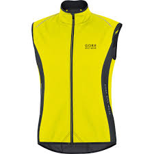 mens fluorescent cycling jacket wiggle gore bike wear power softshell thermo vest cycling gilets