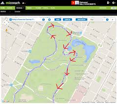 Map Central Park Where To Run In Central Park U2014 Run Selfie Repeat