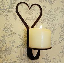 choose wrought iron candle wall sconces for decoration modern