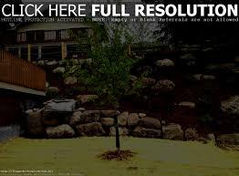 patio pretty sloped backyard design ideas sloping hill landscape