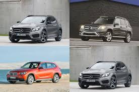 bmw x1 vs audi q3 styling size up 2015 mercedes gla class vs glk x1