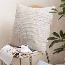 Knitting Home Decor Throw Pillows Set Picture More Detailed Picture About Knitting