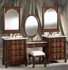 Bathroom Double Sink Vanity Ideas Brilliant Double Sink Vanity With Makeup Table 51 Ideas Ultimate