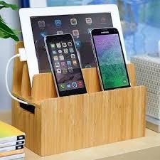 Charging Station Desk Cell Phones Mobile Phone Charging Station Cradle Desk Organizer