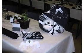 decoration mariage noir et blanc deco mariage noir et blanc