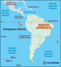 south america map equator galapagos islands map geography of galapagos islands map of