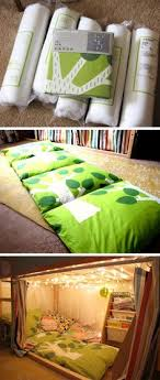 pillow bed for kids how to make a cozy pillow bed beginner sewing projects pillow