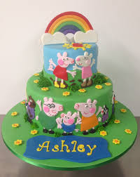 and friends cake 2 tier peppa pig and friends cake s heavenly cakes