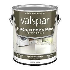 shop valspar white satin interior exterior porch and floor paint
