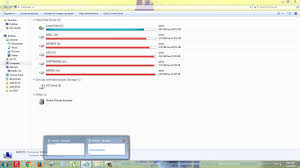 how to get rid of annoying red color drive on windows without