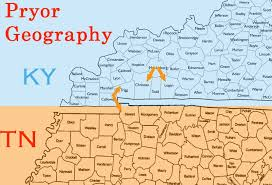 map ky and tn pryor logan county ky and the 1807 estate in christian county