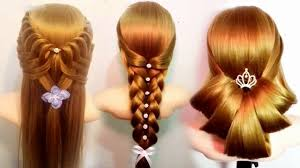 the most beautiful hairstyles tutorials march 2017 youtube