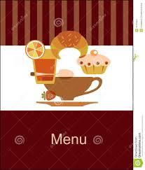 tasty breakfast menu design template stock images image 14705484