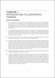 solutions 1 solutions manual corporate finance ross westerfield