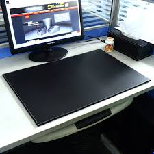 fashion leather writing pad quality commercial desk pad computer