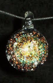pet ash jewelry cremation glass jewelry remembrance keepsake necklace pendant human