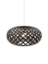 Wohnzimmer Lampe Bubble Kina Lamp Lamp Leuchte Schwarz Black Design Schwarze Lampen