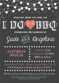 i do bbq wedding invitation by me designs by j9 pinterest