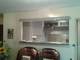 ouvrir cuisine cloison cuisine séjour