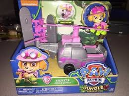 nib paw patrol jungle rescue skye u0027s jungle copter ship everyday