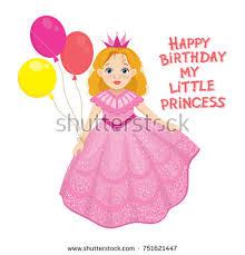 send this beautifull greeting balloons happy birthday fairy girl greeting stock vector 751621447