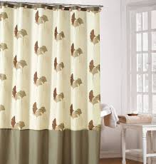 Brown And Teal Shower Curtain by Cream Colored Shower Curtain U2022 Shower Curtain Ideas