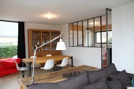 separation de cuisine en verre separation chambre salon collection avec separation de cuisine top