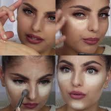 make up contouring technique