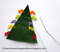 Simple Decoration For Christmas Tree by Bugs And Fishes By Lupin How To Sew Easy Felt Christmas Tree