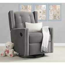 furniture swivel glider recliner is perfect for any nursery or