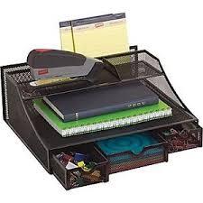 Black Wire Mesh Desk Accessories Staples Black Wire Mesh Desk Bureau Drawer Organizers Accessories
