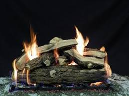 Gas Fire Pit Logs by Warming Trends Crossfire Burners Montana Fire Pits