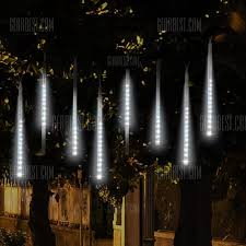 christmas lights that look like snow falling kwb 50cm falling rain christmas lights waterproof led meteor shower