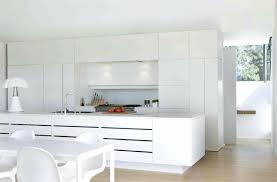 cuisine design blanche cuisine blanche sol bois photos de design d intérieur et