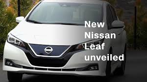 new nissan leaf nissan unveils new electric leaf model video technology
