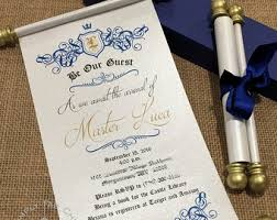 wedding scroll invitations scroll invitation etsy