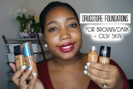 best drugstore foundations for woc with oily skin jessica